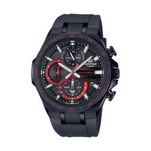 Casio Edifice Black Stainless Steel Chronograph Watch - $145.80