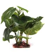 US, CN - Large Leaf Aquatic Plant Simulation Artificial Plastic Grass Fi... - $16.89