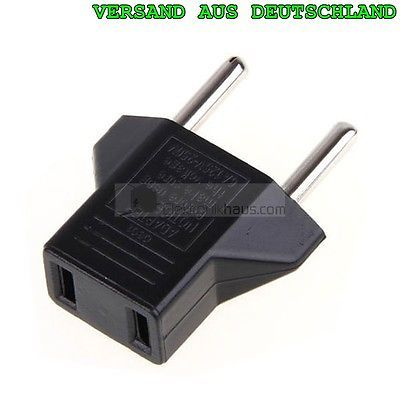 Travel Adapter Quantity Selectable US Socket EU Euro Plug Power Supply Converter