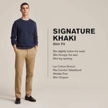 Dockers Men's Slim Fit Signature Khaki Lux Cotton Stretch Pants image 3