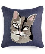 "Home Design Studio Cat 18"" Square Decorative Pillow - ₨2,709.77 INR"
