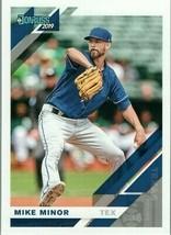#118 Mike Minor Texas 2019 Panini Donruss MLB Baseball Card AAA - $2.02