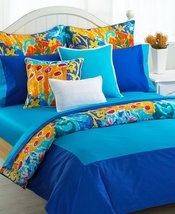 "Ralph Lauren"" Isle Capri"" Tropical Blue Twin Flat Sheet 450TC Cotton Sateen New. - $94.60"
