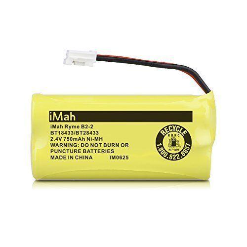 2 Pk 2.4V 750mAh Ni MH Replacement Battery For Vtech AT&T Cordless Phone Models