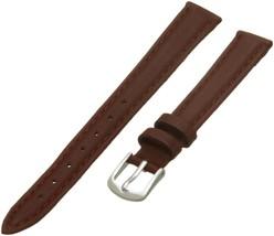 Hadley-Roma Women's LSL714RA 100 Genuine Leather Strap Watchband Ta... SHIPSFREE - $9.85