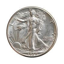 Superb - 1939 D Walking Liberty Half Dollar - Gem BU / MS / UNC - High G... - $90.00