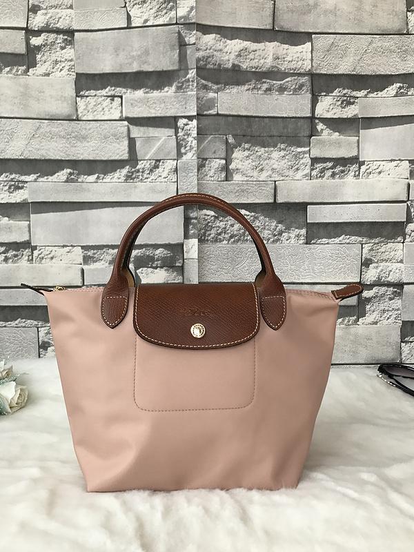 Big 10. Big 10. Previous. Longchamp Le Pliage Small Short Handel Nylon  Handbag Light Pink 1621089A26 5be7945b6d86d