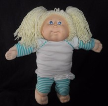 VINTAGE 1982 CABBAGE PATCH KIDS DOLL GIRL LONG BLONDE HAIR W/ 2 BOTTOM T... - $42.08