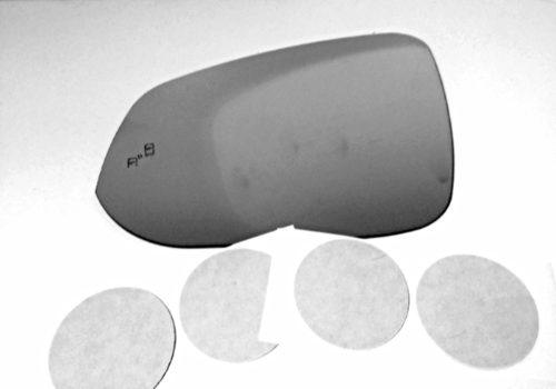 Primary image for Fits 16-18 Toy Tacoma Left Driver Mirror Glass Lens w/Blind Spot Icon*