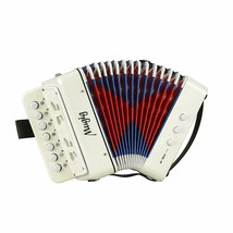 NEW Little Accordion Kid Solo Musical Instrument10 Keys All Ages Study B... - $45.24