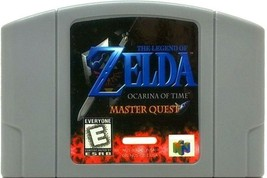 The Legend of Zelda: Ocarina of Time Master Quest n64 Video Game - PAL V... - $39.34