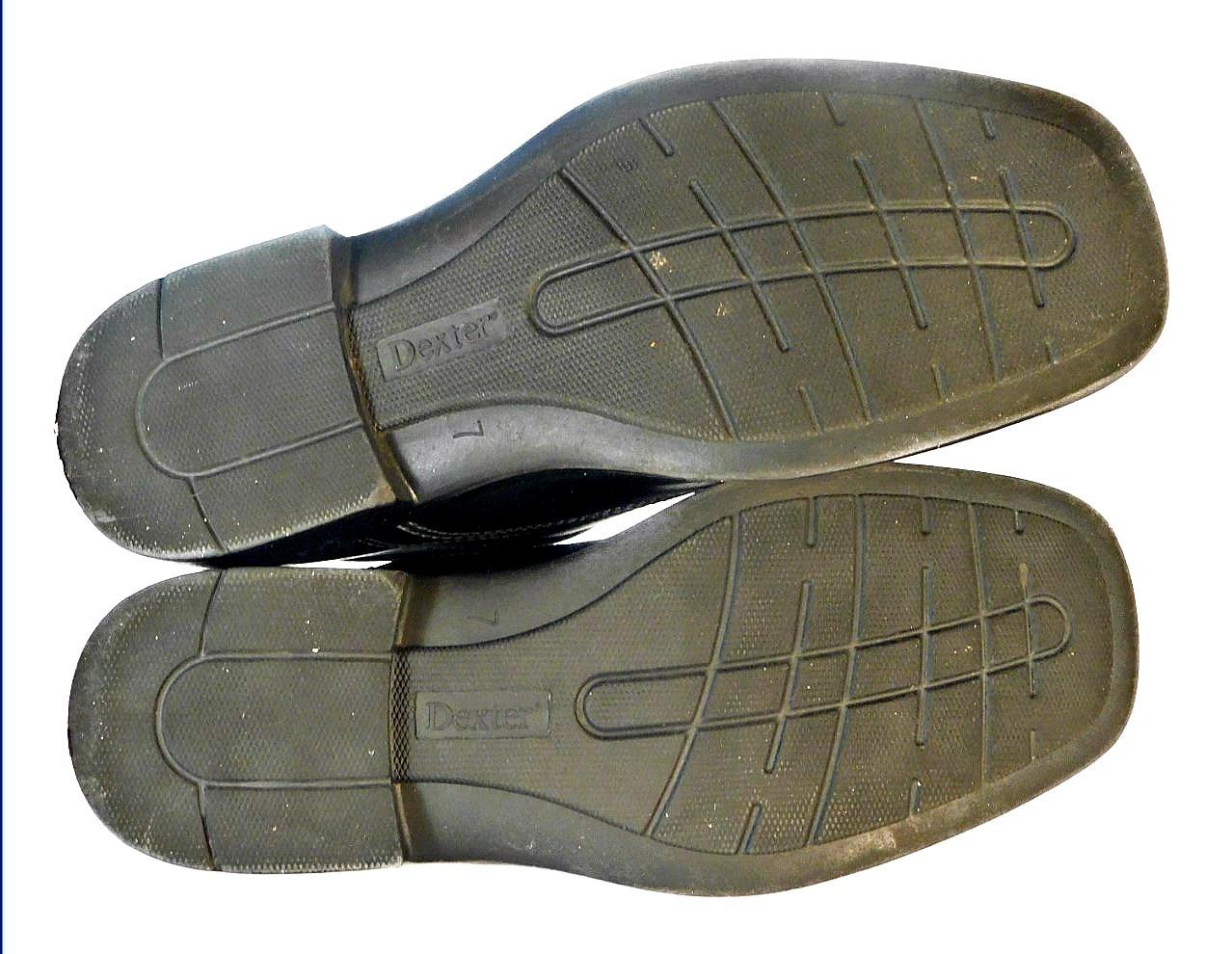 Dexter Men's Comfort Black Leather Square Toe Oxford Casual Shoes  Size 7