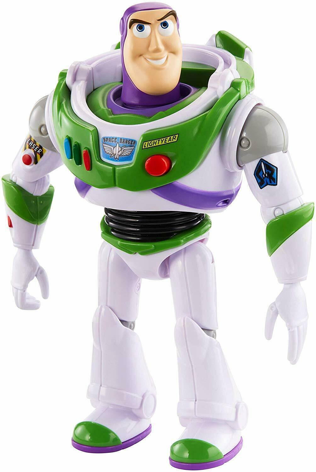 "Disney Pixar Toy Story 4 True Talkers Talking BUZZ LIGHTYEAR Figure 7"" BRAND NEW"