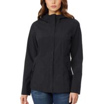 32 DEGREES Womens Cool Women's Waterproof Rain Jacket Black (L) - $18.80