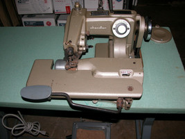 Chandler Mark 60 Blindstitch Industrial Single Thread Blind Stitch Sewing Machin - $588.88