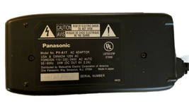 PV A17 Panasonic battery charger video camcorder VHSC palmcorder ac dc PalmSight - $19.21