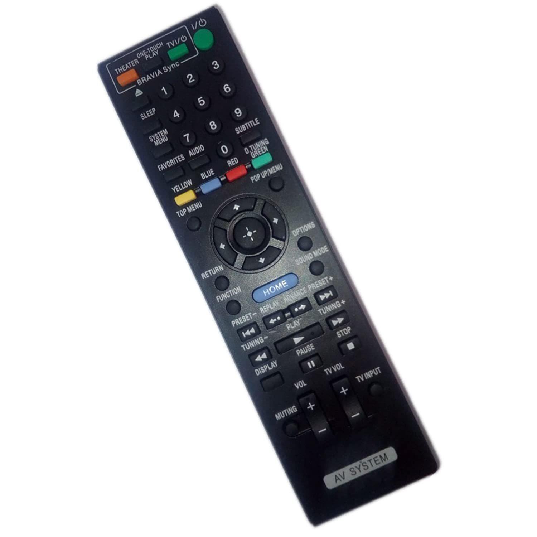 replaced remote control compatible for sony bdv-e770w bdve570 hbdt57 hbd-e770w h - $27.99