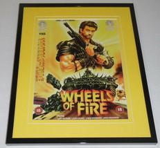 Wheels of Fire Framed 8x10 Repro Poster Display Gary Watkins Laura Banks - $32.36