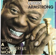 Louis Armstrong CD What A Wonderful World - $1.99