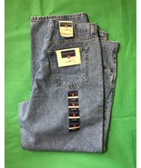 Saddlebred Classic Cowboy Fit Blue Jeans New With Tags Size 42 Length 30 - $32.73