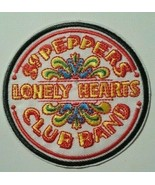 """The Beatles~Sgt. Peppers LHC Band~Iron or Sew~Embroidered Patch~3 1/4"""" Round - $4.75"""