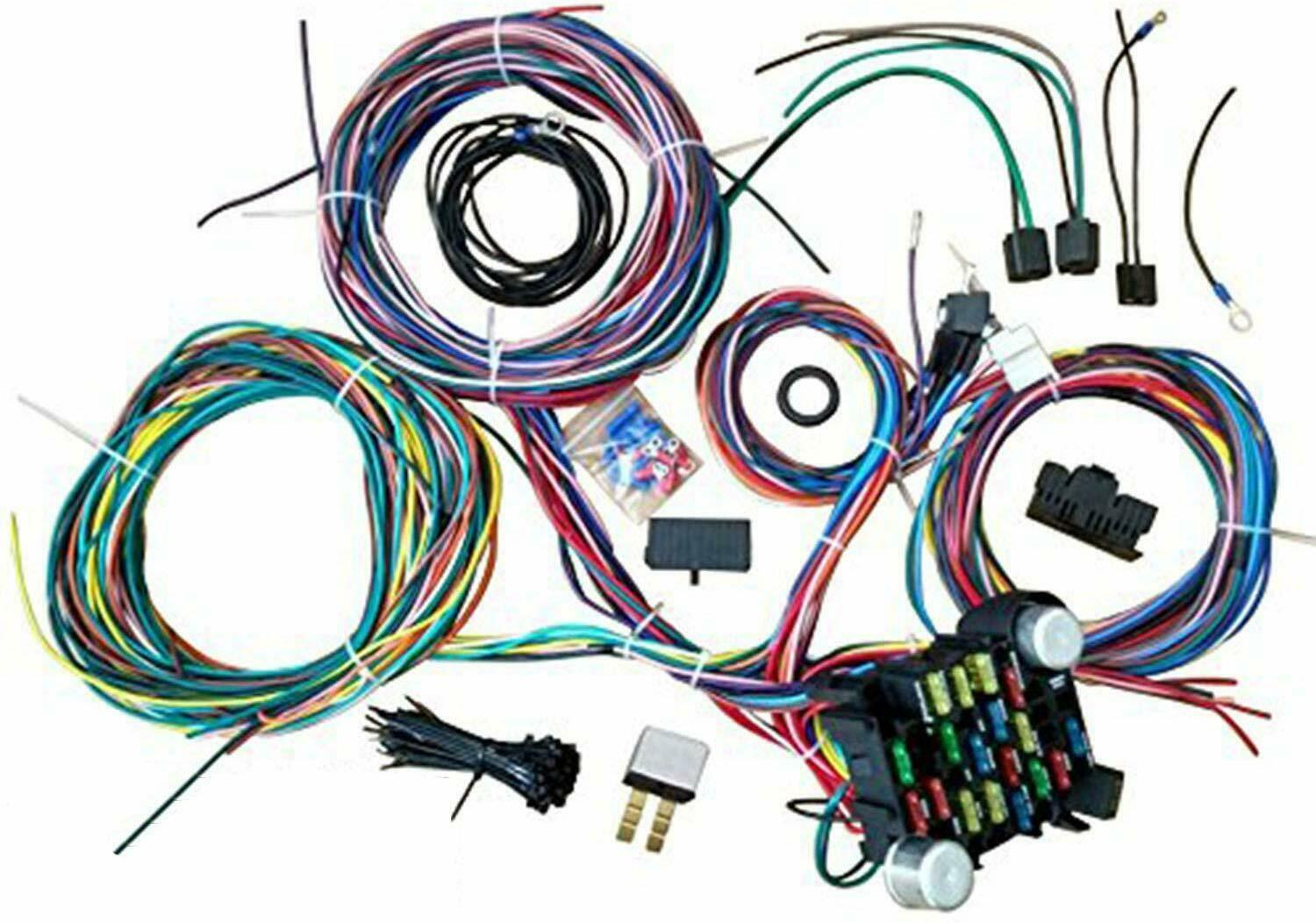 73-82 Chevy GMC Truck Pickup Wiring Harness Universal Wiring Kit 21 Circuit