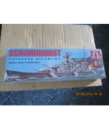 Lindberg Scharnhorst German Battleship 1/762 scale - $14.99