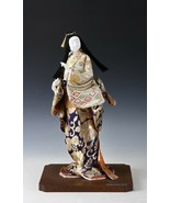 Beautiful Japanese GEISHA DOLL -Traditional Style- Kyoto Tanakaya Product - $159.29