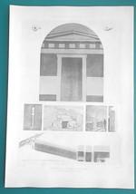 MACEDONIA Greece Tombs near Pydna -  SUPERB 1905 Espouy Print - $10.80