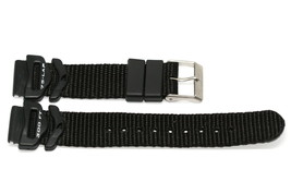 FREESTYLE 18MM BLACK NYLON RUBBER WATERPROOF WATCH BAND STRAP - $9.89