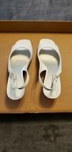 Womens Etienne Aigner Sandals - White - Size - 8.5M - $30.00