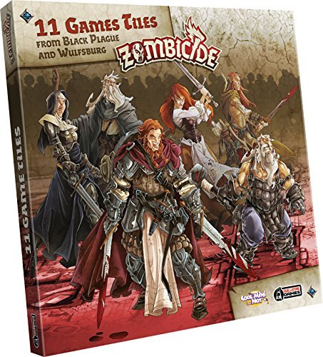 Zombicide Black Plague Extra Tiles Pack Board Game Game