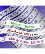 Label Weavers 36 Woven Sew-on Name Tapes/Tags for School/Camp/Care Home - $12.82