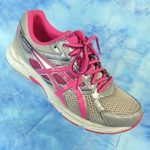 ASICS Gel Contend 3 Womens 9.5 EU 41.5 Bright Pink Silver Running Shoes ... - $39.95