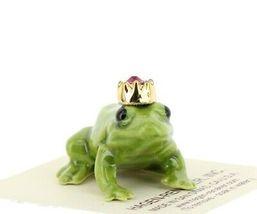 Birthstone Frog Prince January Simulated Garnet Miniatures by Hagen-Renaker image 6