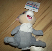 """NWT Retired Disney Store 7"""" THUMPER from Bambi Beanbag Plush Toy Doll New Tags - $8.90"""