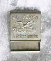 Vintage El Verso Cigar Portable Ashtray - $12.30