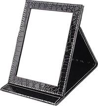 Sunset House folding mirror portable mirror crocodile gifts black small ... - $30.40