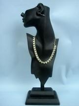 """STAR Vintage 18"""" Silver/Goldtone Leaf Necklace - $20.81"""