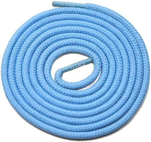 "Primary image for 54"" Sky Blue 3/16 Round Thick Shoelace For All Unisex 3/16 Round Thick Shoes"