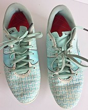 Under Armour Youth Soccer Cleats Force FG-R Jr. Size  4.5 Teal white. - $22.04