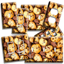 Milk Chocolate Chips Cookies Light Switch Outlet Wall Plates Room Kitchen Decor - $9.99+