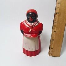 Vintage Aunt Jemima Plastic Syrup Pitcher Black Americana F&F Mold And D... - $4.95