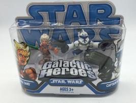 Star Wars Galactic Heroes AHSOKA TANO and CAPTAIN REX ! Clone Wars 2 Pack - $28.04