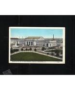 POSTCARD UNION STATION COLUMBUS MEMORIAL FOUNTAIN WASHINGTON D.C. B S RE... - $13.45