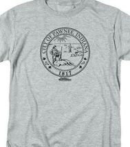 City of Pawnee, Indiana 1817 graphic T-shirt Parks & Recreation TV series NBC348 image 3