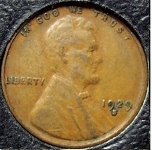 1929-S Lincoln Wheat Back Penny VF #814 - $1.89