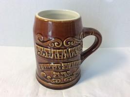 Vintage Clearmans Northwoods Inn Coffee Mug Stein Hall China - $9.50