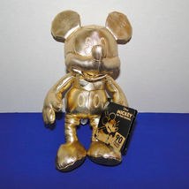 Disney Mickey Mouse 90th Anniversary Gold Plush Small image 4