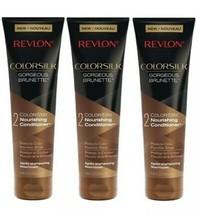 Revlon Colorsilk Gorgeous Brunette Moisturizing Shampoo And Conditioner 8.45oz - $12.00